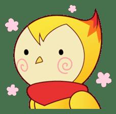 Fujimichan - the Phoenix Lady sticker #129767