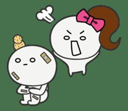Trutte-kun & Trutte-chan sticker #130092
