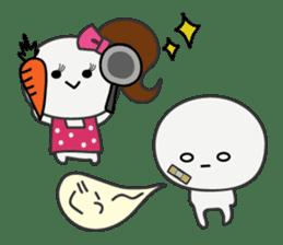 Trutte-kun & Trutte-chan sticker #130094
