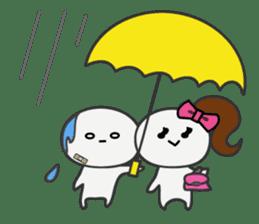 Trutte-kun & Trutte-chan sticker #130095
