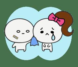 Trutte-kun & Trutte-chan sticker #130098