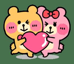 Round Bear sticker #130624