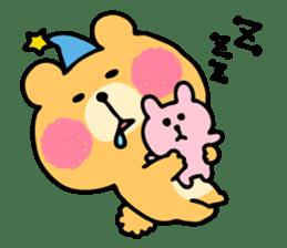 Round Bear sticker #130626