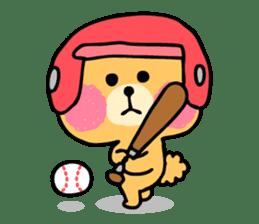Round Bear sticker #130633
