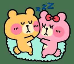 Round Bear sticker #130635