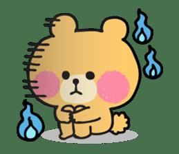 Round Bear sticker #130636