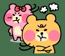 Round Bear sticker #130637