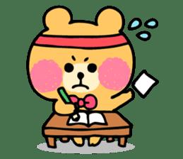 Round Bear sticker #130638