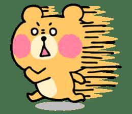 Round Bear sticker #130648