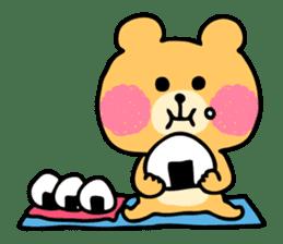 Round Bear sticker #130652