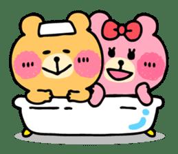 Round Bear sticker #130659