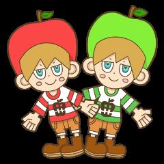 JONA and ORI -Twins Apple Brothers-