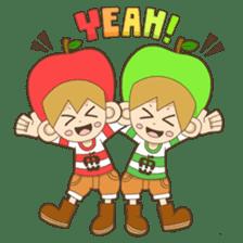 JONA and ORI -Twins Apple Brothers- sticker #130946