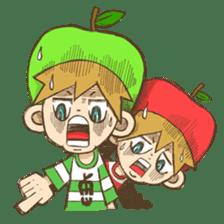 JONA and ORI -Twins Apple Brothers- sticker #130960