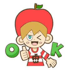 JONA and ORI -Twins Apple Brothers- sticker #130964