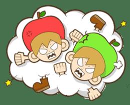 JONA and ORI -Twins Apple Brothers- sticker #130979