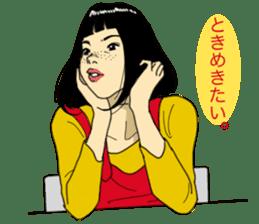 WIT-GIRL sticker #131066