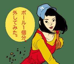 WIT-GIRL sticker #131081