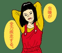 WIT-GIRL sticker #131086