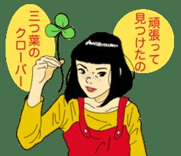 WIT-GIRL sticker #131090
