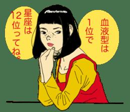 WIT-GIRL sticker #131096