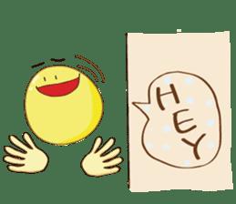 Mr. & Mrs. Yellow sticker #131624