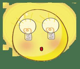 Mr. & Mrs. Yellow sticker #131639
