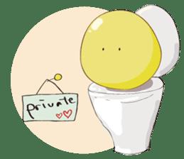 Mr. & Mrs. Yellow sticker #131651