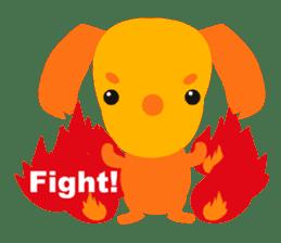 """Mix dog Dachshund and Chihuahua """"Chisu"""" sticker #131762"""