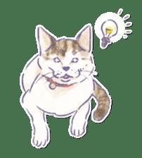 Ponta and Yukie sticker #132476