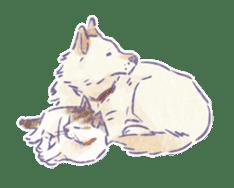 Ponta and Yukie sticker #132499