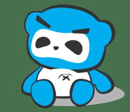 Little Ninja Panda sticker #133700
