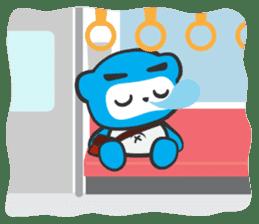 Little Ninja Panda sticker #133717