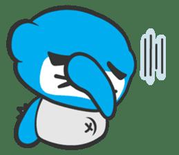Little Ninja Panda sticker #133720