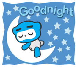 Little Ninja Panda sticker #133724