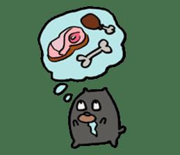 Cafe the Dog sticker #134038