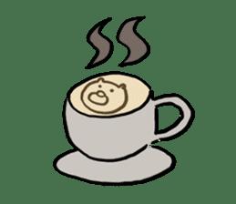 Cafe the Dog sticker #134054