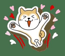 A Japanese dog, Maru 2 sticker #134180