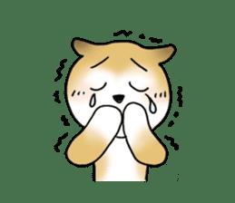 A Japanese dog, Maru 2 sticker #134182