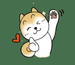 A Japanese dog, Maru 2 sticker #134184
