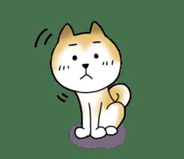 A Japanese dog, Maru 2 sticker #134186