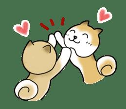 A Japanese dog, Maru 2 sticker #134197