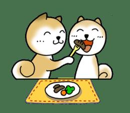 A Japanese dog, Maru 2 sticker #134198