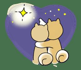 A Japanese dog, Maru 2 sticker #134203
