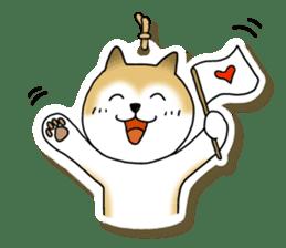 A Japanese dog, Maru 2 sticker #134212