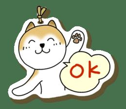 A Japanese dog, Maru 2 sticker #134215