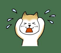 A Japanese dog, Maru 2 sticker #134217