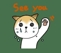 A Japanese dog, Maru 2 sticker #134219