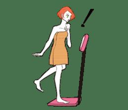 Girl's Lifestyle sticker #134244