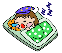 pretty kids Tsurara sticker #134576